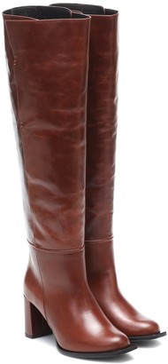 Dorothee Schumacher Sporty Elegance leather over-the-knee boots
