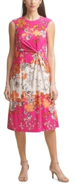 Thumbnail for your product : Vince Camuto Twisted Midi Dress