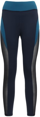 Michi Raven Deep Sea Crop Leggings