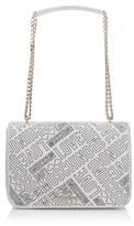 Love Moschino Women's Love Printed Shoulder Bag White