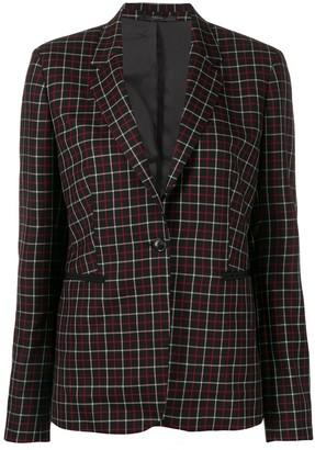 Paul Smith single-breasted check blazer