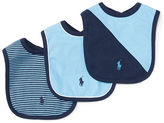 Ralph Lauren Boy Cotton Bib Set