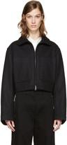 Lemaire Black Wool Jacket