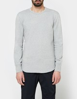 Reigning Champ Scalloped LS Crewneck - Mid Weight Terry