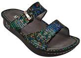 Alegria Leather Double Strap Slide Sandals -Karmen