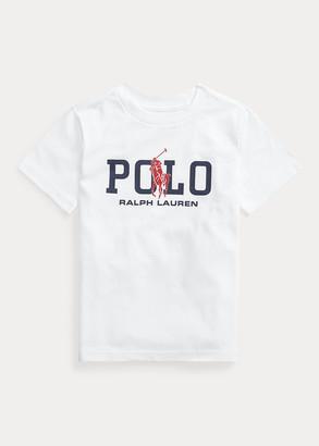 Ralph Lauren Big Pony Logo Cotton Tee