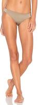 Eberjey Beach Glow Annia Bikini Bottom in Brown
