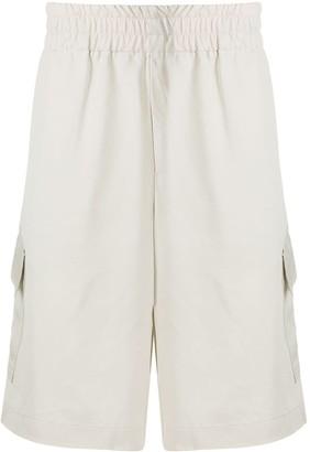 Paura Knee-Length Cargo Shorts