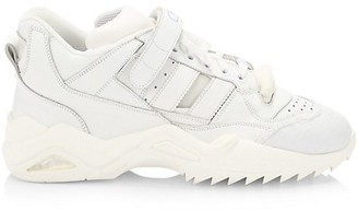 Maison Margiela Retrofit Mix Media Mid-Top Sneakers