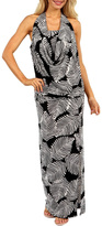 24/7 Comfort Apparel Cowl Neck Dress