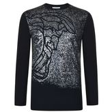 Versace Collection Speckle Print Top