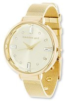 Steve Madden Women's Quartz and Alloy Casual Watch, Color:Gold-Toned (Model: SMGW012G)