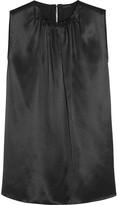 Joseph Zahn silk-satin blouse