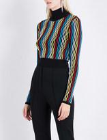 Diane von Furstenberg Turtleneck knitted jumper