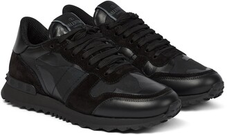 Valentino Garavani Rockrunner leather sneakers