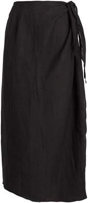 Anémone High-Rise Gauze Wrap Skirt