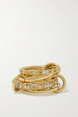 Spinelli Kilcollin 18-karat Gold, Sapphire And Diamond Rings