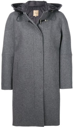Fay Cocoon Fitted Coat