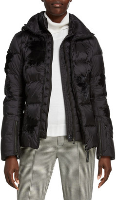 Bogner Maggie Embroidered Puffer Coat