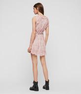 AllSaints Priya Rosa Dress