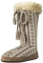 Muk Luks Women's Grace Winter White Slouch Boot