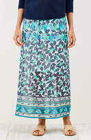 J. Jill Royal Palms Print Skirt