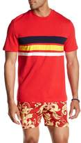 Parke & Ronen Striped Crew Neck Tee