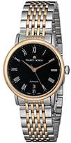 Maurice Lacroix Women's LC6063-PS103-310 Les Classiques 18k Rose-Gold and Stainless Steel Watch with Link Bracelet