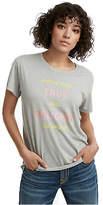True Religion Womens Tr World Tour Graphic Tee