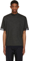 Kolor Grey Wool T-Shirt