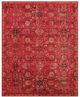 """Nourison Timeless Rug - Red, 7'9"""" x 9'9"""""""
