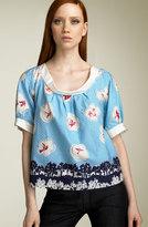 Leifsdottir 'Esplanade Sparrows' Cotton Top