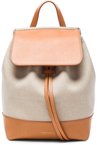 Mansur Gavriel Canvas Mini Backpack