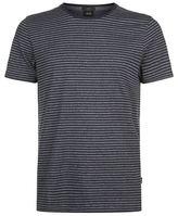 BOSS Striped Cotton T-Shirt
