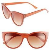 BP Women's Cat Eye Sunglasses - Rust/ Gold