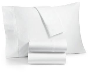 Aq Textiles Bergen House Woven Diamond Dot 4-Pc. King Sheet Set Extra Deep, 1000-Thread Count 100% Certified Egyptian Cotton Bedding