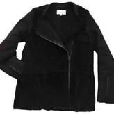 Sandro Black Shearling Coats