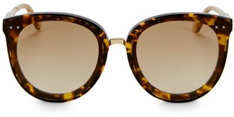 Bottega Veneta Timeless Elegance 62MM Cat Eye Sunglasses