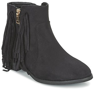 Elue par nous VOPFOIN women's Mid Boots in Black
