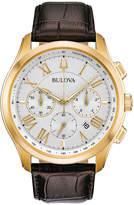 Bulova Mens Brown Bracelet Watch-97b169