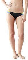 Classic Women's AquaSport Strappy Low Waist Bikini-White