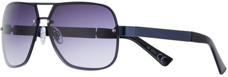 Apt. 9 Men's Navy Navigator Sunglasses - Blue Smoke Gradient Lens