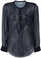 Etoile Isabel Marant Boden chiffon blouse - women - Silk - 38