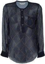 Etoile Isabel Marant Boden chiffon blouse - women - Silk - 40