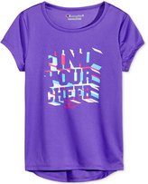Champion Find Your Cheer Graphic T-Shirt, Toddler and Little Girls (2T-6X)