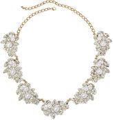 Natasha Accessories Natasha Simulated Pearl and Crystal Pendant Necklace