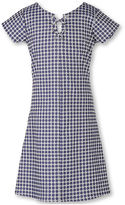 Speechless Short-Sleeve Denim A-Line Dress - Girls 7-16