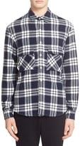 TOMORROWLAND Plaid Knit Sport Shirt