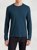 John Varvatos Cotton Modal Crewneck