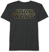 JEM Men's Big & Tall Star Wars Metallic-Print Logo T-Shirt from